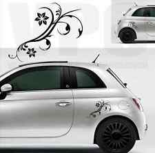 adesivi adesivo fiori stickers flowers custom auto tuning vespa fiat 500 smart