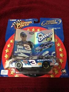 2001 Nascar Winners Circle Double Platinum #3 Dale Earnhardt Jr. Oreo