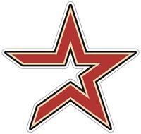 "Houston Astros MLB Vinyl Decal - You Choose Size 2""-28"""