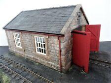 More details for 7mm narrow gauge engine shed kit, stone built / o gauge workshop transport depot