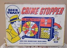 1963 IDEAL DICK TRACY CRIME STOPPER Game in Original Box restore or parts