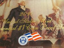 2010 Us $1 Presidential Proof Set From Our Vault 4 Coin Set 2010