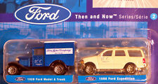 Matchbox Ford Motor Co THEN AND NOW Series 2 1929 Model A Trk & 1998 Expedition