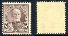 Us Scott #272 8 ¢ Violette Marron 1895 Nh Excellent État Tampon Cat