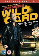 Wild Card Extended Edition [DVD] [2015] New Sealed UK Region 2 - Jason Statham
