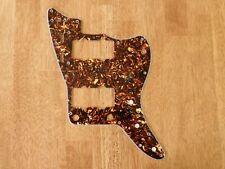 PICKGUARD BROWN TORTOISE SHELL 4 PLY FOR FENDER JAZZMASTER