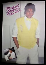 Michael Jackson Thriller 1984 Us Original Promo Only Poster Minty !