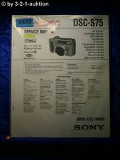 Sony Service Manual DSC S75 Level 2 Digital Still Camera  (#5892)
