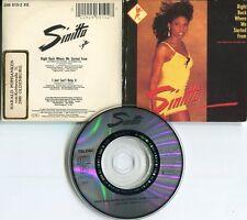 Sinitta   CD-Single ( 3 INCH)   RIGHT BACK WHERE WE STARTED FROM  © 1989 TELDEC