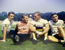 SIMPSON, ANQUETIL, ALTIG & MERCKX RARE CYCLING POSTER
