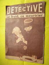 Détective 1954 GRANDCAMP MONTAMISé LONGEVILLE CHAULNES