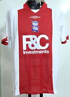 BIRMINGHAM CITY 2008/09 S/S AWAY SHIRT BY UMBRO SIZE ADULTS LARGE BRAND NEW