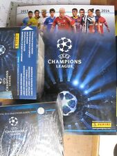 2 x PANINI  UEFA Champion Leagues 2013 / 2014  BOX  50 Stickers Packs + Album
