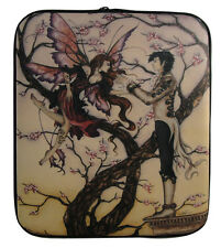 AMY BROWN TEMPTATION FAIRY ART LAPTOP NOTEBOOK NETBOOK COVER/SLEEVE/iPad ZIP BAG