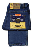 MENS AZTEC BIGGER SIZE JEANS GREAT QUALITY WORKWEAR DENIM ZIP FLY STONEWASH BLUE
