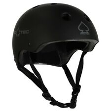 Protec Classic Bike Certified Helmet Matte Black Medium Pro-Tec