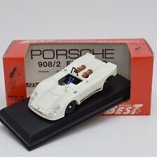 BEST 9106 Porsche 908/2 Flunder V8 Bianco / White selten !!, 1:43, OVP, 116/32