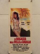 LA RAGAZZA DALLA PELLE DI CORALLO regia Osvaldo Civirani locandina orig. 1975