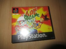 SONY PlayStation 1 APE ESCAPE - Rare BLOCKBUSTER VIDEO Rental Version pal
