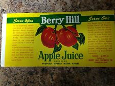 apple juice label in Collectibles | eBay