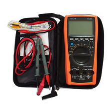 New Vici VC99 3 6/7 Auto range digital multimeter with bag FLUKE Lead