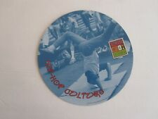 Hip Hop Begins in South Bronx, Rap Music History, Collectible Cardboard Disc