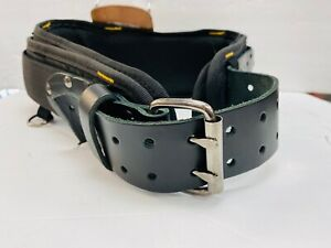 AWP Construction Tool Belt Polyester/Leather with hammer holder