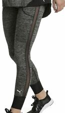 Puma Explosive Heather Womens Training Tights Grey Gym Workout Compression Tight