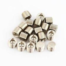 20Pcs Pneumatic Fittings 1/8'' Threaded Internal Hex Head Pipe Plugs end cap