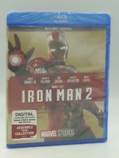 Iron Man 2 (Blu-ray+Digital, 2017; MCU Phase One) NEW