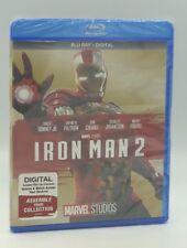 Iron Man 2 (Blu-ray+Digital, 2017; MCU Phase One) NEW