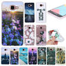 For Samsung Galaxy A3 A5 A7 Shockproof Soft Silicone Painted TPU Back Case Cover