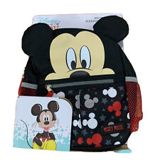Disney Baby Mickey Mouse Mini Backpack Safety Harness Straps Toddlers Red New