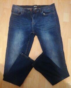 Mens Firetrap Blue Denim Jeans 36 Long