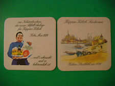 Vintage KUPPERS Beer Coaster: Küppers Kölsch Brauerei ~ Cologne, GERMANY Brewery