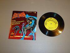 """VINTAGE 1975 7"""" - # 2306 Batman The Catwoman's Revenge 45 rpm Power Records"""