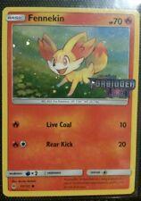 Fennekin 15/131 Stamped Forbidden Light Holo Promo limited edition Pokemon Card