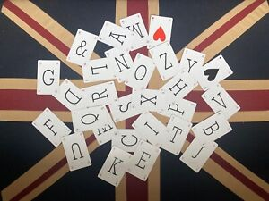 Individual Lexicon Cards - All letters available - Ideal for crafting - A to Z