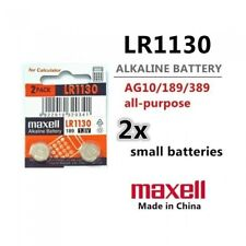 2 Pieces LR1130 Battery (AG10/390) 1.5v Alkaline Button Battery - Free Shipping