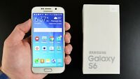Samsung Galaxy S6 G920-32GB - Libre Smartphone sin Tarjeta Sim Caja Pack