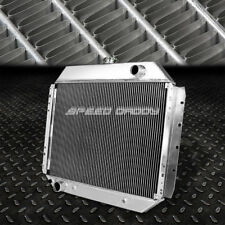 FOR 68-79 F100/150/F250 BRONCO DUAL CORE ALUMINUM RACING 2-ROW COOLING RADIATOR