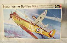 Vintage Revell Supermarine Spitfire Mk I H-282:250 Model Airplane Kit Unbuiilt