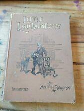 Little Lord Fauntleroy by Frances Hodgson Burnett 1901