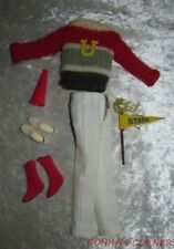 Vintage Ken Outfit ~ Campus Hero ~ 1964 ~ Complete With Pennant