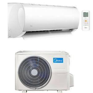 Climatizzatore Condizionatore Monosplit Inverter Midea R32 9000 BTU