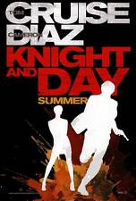 KNIGHT AND DAY Movie POSTER 27x40 Tom Cruise Cameron Diaz Maggie Grace Peter