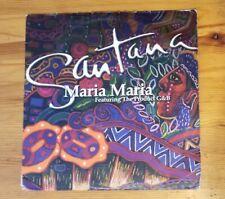 "Santana - Maria Maria Feat. Product G&B Vinyl 12"" Single Arista VG Rare"