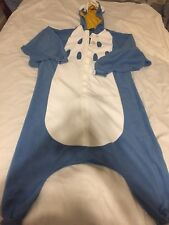 Blue Owl Kigurumi Adult Costume Halloween Bedtime Sazac Animal Pajamas Regular