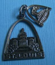 Vintage St. Louis Missouri MO sterling charm