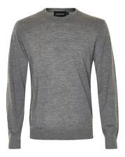 Matinique Margrate Merino Wool Jumper/Med Grey Melange - Extra Large NEW AW16